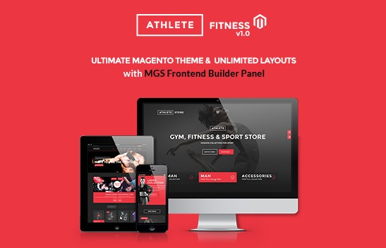 Showing Dynamic Sport store by Athlete Drupal theme – $ 48